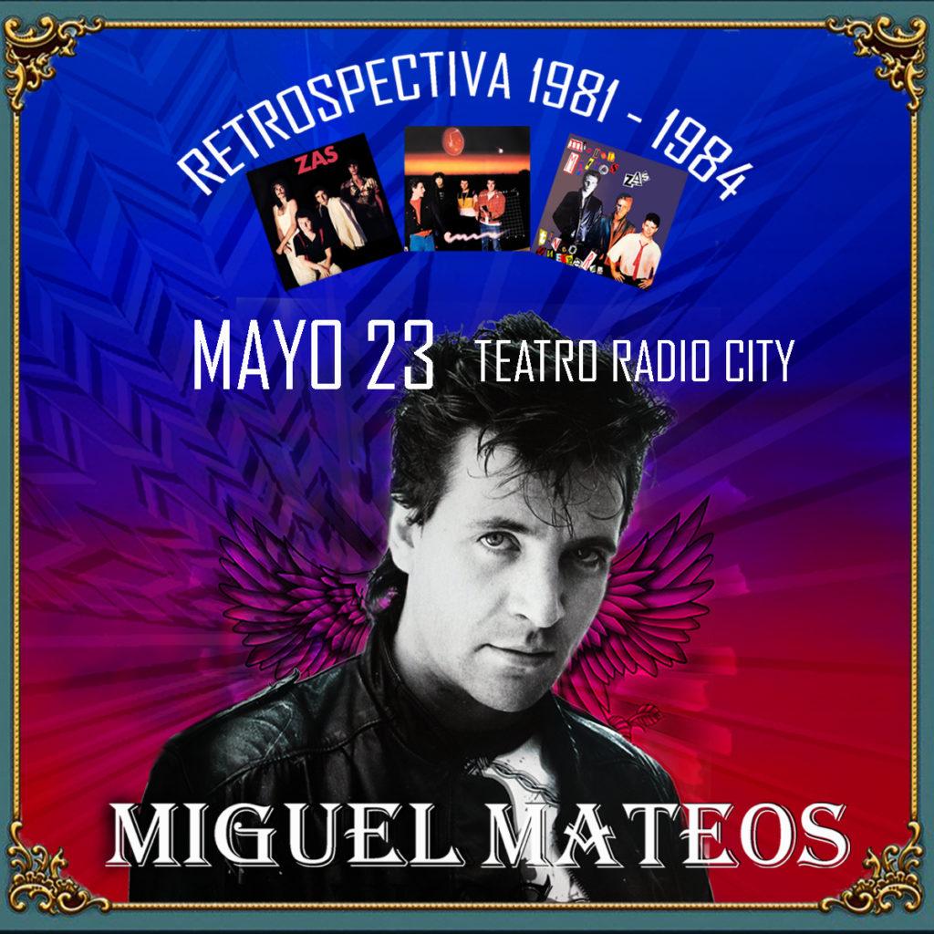 Miguel Mateos regresa a Mar del Plata