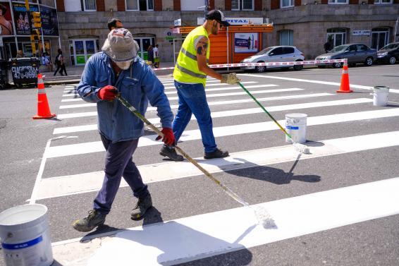 Continúan los trabajos de mantenimiento y arreglo de calles en distintos barrios de la ciudad