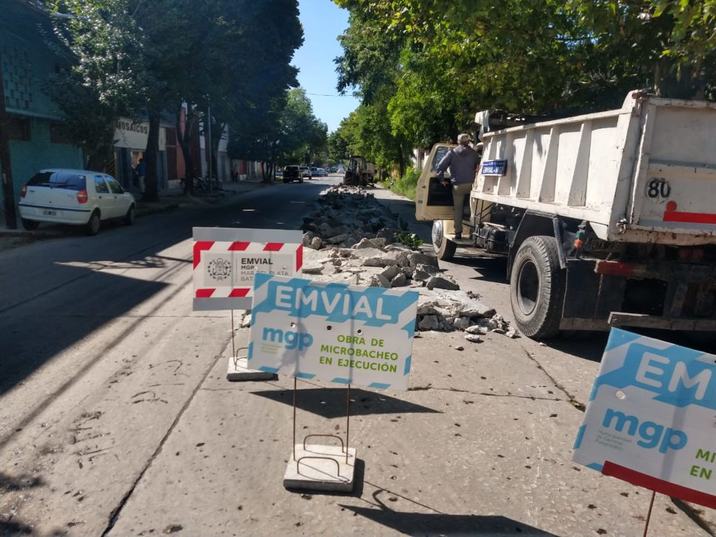 La Municipalidad avanza con trabajos de mantenimiento y arreglo de calles