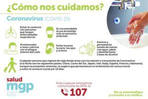 Coronavirus: ¿Cómo nos cuidamos?
