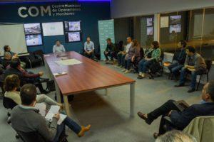 Montenegro encabezó en el COM la reunión con al Mesa Social