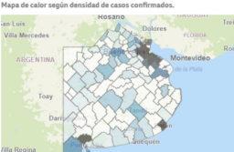 Salud liberó un mapa interactivo para seguir los contagios en cada municipio