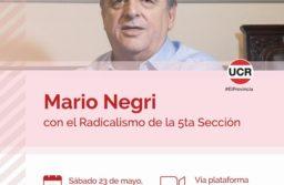 Mario Negri llamó a recobrar la esencia de la vida, la libertad, transparencia y división de poderes; AF no tiene salida