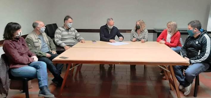 Se firmó el convenio entre el Colegio de Arquitectos y la Federación de Asociaciones Vecinales de Fomento