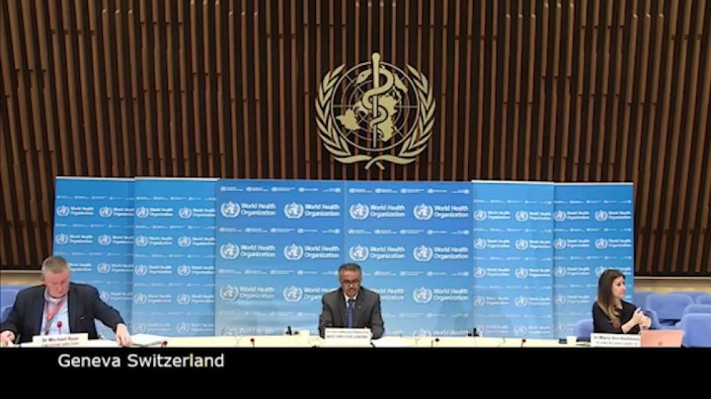 """La OMS advirtió que """"ni siquiera está cerca"""" el fin de la pandemia"""