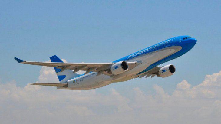 Aerolíneas Argentinas vendió más de 188 mil pasajes durante la última semana