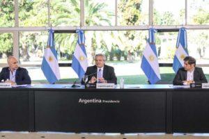 El Presidente se reúne con Rodríguez Larreta y Kicillof para definir cómo sigue el aislamiento