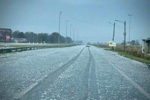 Alerta Meteorólogico: Se esperan tormentas con fuertes ráfagas de viento y ya se presentó caída de granizo