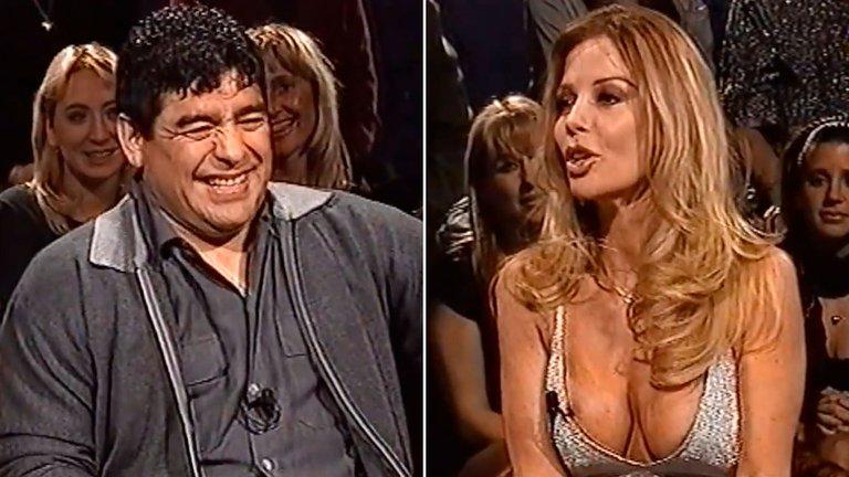 """Alfano contó que estaba en pareja cuando tuvo un romance con Diego Maradona: """"Fue un poliamor"""""""