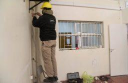 El Municipio avanza con la reparación de escuelas provinciales