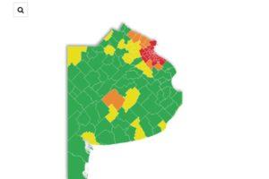 Qué municipios bonaerenses están en fase 5 y cuáles comenzaron el aislamiento estricto