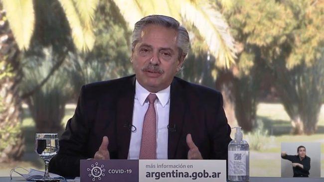 """Alberto Fernández: """"Resolvimos una deuda imposible en la mayor crisis económica que se recuerde y en medio de una pandemia"""""""