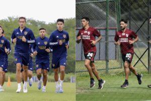 Los equipos de Primera División vuelven al trabajo (NA)