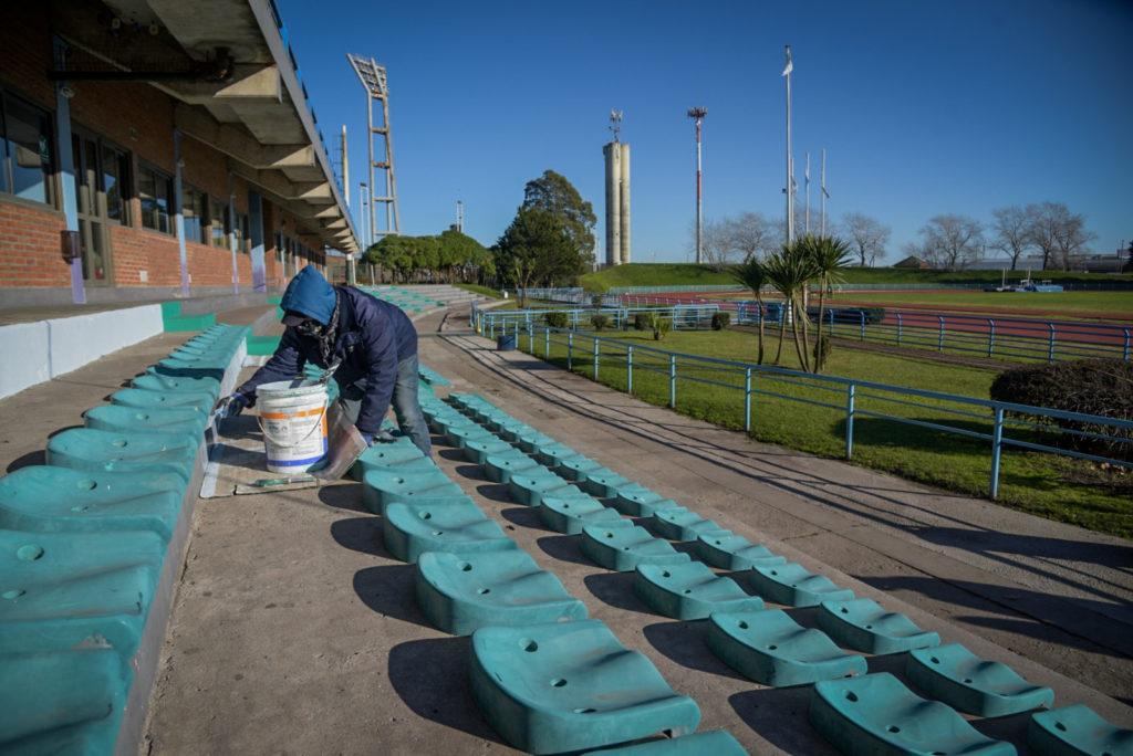El Municipio trabaja en la puesta en valor de los escenarios deportivos