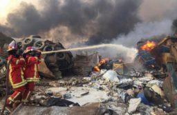 Una fuerte explosión sacudió Beirut: hay cientos de heridos