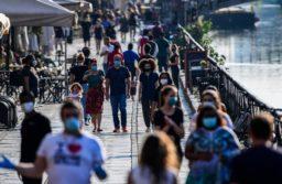 """La OMS advierte que la transmisión del coronavirus en Europa es """"alarmante"""""""