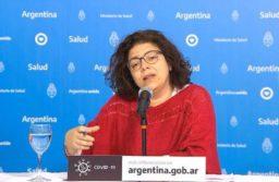 """La secretaria de Acceso a la Salud, Carla Vizzotti, señaló que """"por primera vez el AMBA tiene un porcentaje (de casos de coronavirus) menor que el resto del país"""". TELAM"""