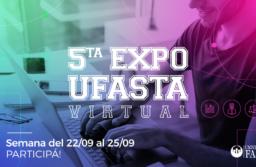 Se realizará la 5ta Edición «EXPO UFASTA» de manera virtual