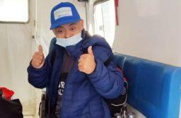 El joven se recuperó de coronavirus en el Hospital Independencia de la capital de Santiago del Estero.