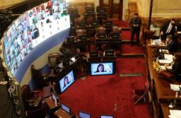 El Senado le dio media sanción este jueves. Crédito: Juan Manuel Foglia