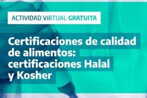 Invitan a participar de una charla virtual sobre certificación de alimentos