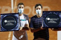 Zeballos se consagró campeón en dobles del Masters 1000 de Roma