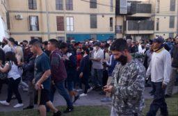 Una de las últimas movilizaciones del sector que responde a la Normalización de la UOCRA en La Favela