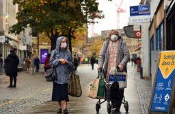 Europa tuvo la tasa más alta de casos desde el inicio de la pandemia