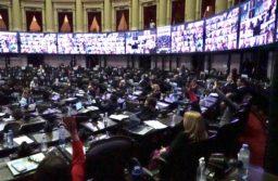 Diputados dio media sanción al Presupuesto 2021