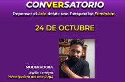 Invitan a un conversatorio sobre arte y feminismo