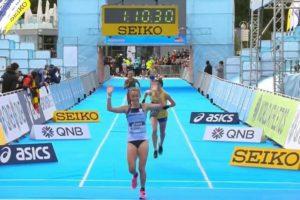 Gran actuación de Florencia Borelli en el Mundial de Medio Maratón