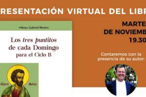 El obispo Gabriel Mestre hará una presentación virtual de su libro