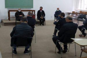El obispo recibió a representantes de los gremios en la ciudad