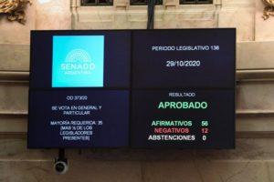 El Senado convirtió en ley el proyecto que declara de interés público la vacuna Covid-19
