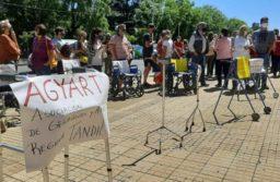 Tandil: movilización de geriátricos, reclaman la autorización de visitas