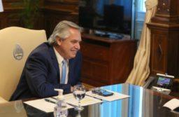 Alberto Fernández mantuvo una conversación telefónica con el presidente electo de EEUU Joe Biden