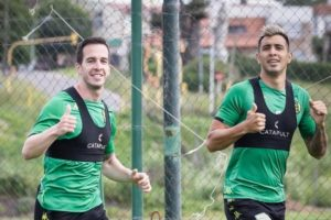 Aldosivi arrancó la semana de buen ánimo y pensando en San Lorenzo