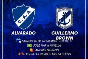 Alvarado recibe esta noche a Brown de Puerto Madryn