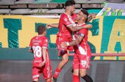 Argentinos Juniors goleó a Aldosivi