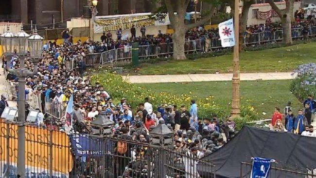 """Péculo: """"El funeral de Maradona no fue bien organizado"""""""