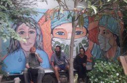Instalarán en el Hospital Houssay un mural en agradecimiento a los trabajadores esenciales