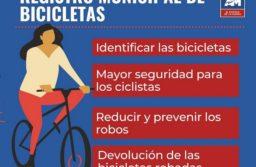 Por los robos, buscan crear un registro de bicicletas