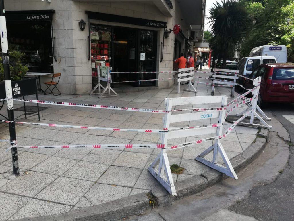 La comuna tomó medidas preventivas en un edificio con posible riesgo de desprendimiento