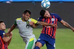 Aldosivi igualó como visitante ante San Lorenzo y se quedó afuera