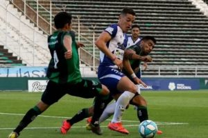 En flojo partido, Alvarado perdió de local ante San Martín de San Juan