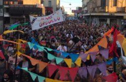 Histórica Marcha del Orgullo en la ciudad de Azul
