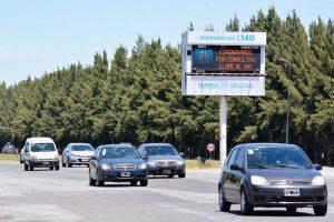 Cambio de quincena: circulan 2.300 autos por hora a la costa